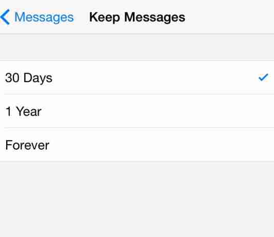 How to automatically delete text messages on iPhone and all apple iphones