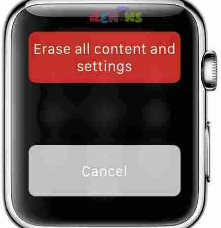 How to Erase Content From Apple Watch