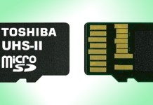 MicroSD card Toshiba UHS-II