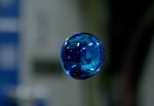 Mysterious bubble that grows in space?