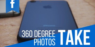 How to take 360 degree photos and upload them to Facebook