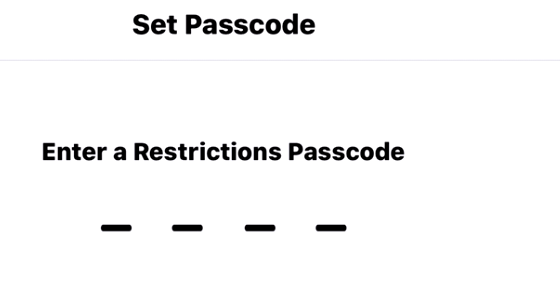 Set passcode for restrictions settings: How to block websites in Safari on iPhone and iPad