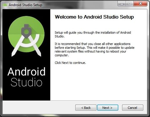 Download and Install android studio: How to create an android app : Build an android app Using Android Studio