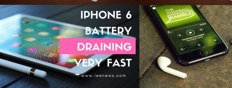 iphone 6 battery draining fast all of a sudden iphone 6 battery drain overnight ieenews. Black Bedroom Furniture Sets. Home Design Ideas