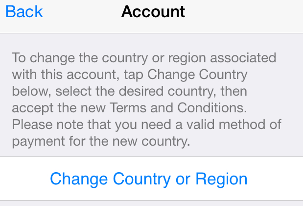 how to change the country in apple store, how to switch app store to usa, how to change my app store account