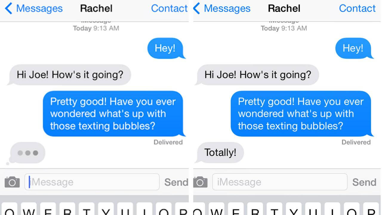 Iphone Message Bubble Ios 10 Imessage Bubble Effect · How To Use Apple