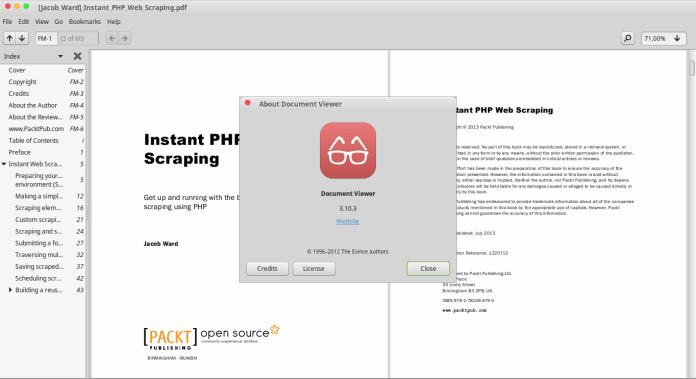 Evince Alternatives to Nitro PDF Reader