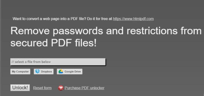 Pdf Print Unlocker