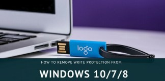 How to remove write protection from pen drive in windows 8, Windows 10/7