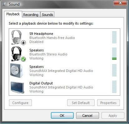 Troubleshoot Bluetooth audio problems HP