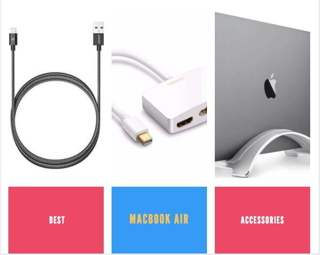 Best MacBook Air Accessories