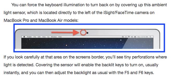 macbook air keyboard backlight not working, macbook pro keyboard light wont turn on, why does my mac keyboard not light up