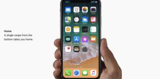 Use gestures to navigate your iPhone X