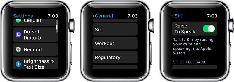 How to Use the Siri Raise to Speak Feature in watchOS 5