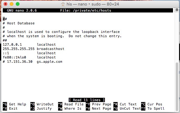 3 How to Edit the Hosts File in Mac OS X with Terminal