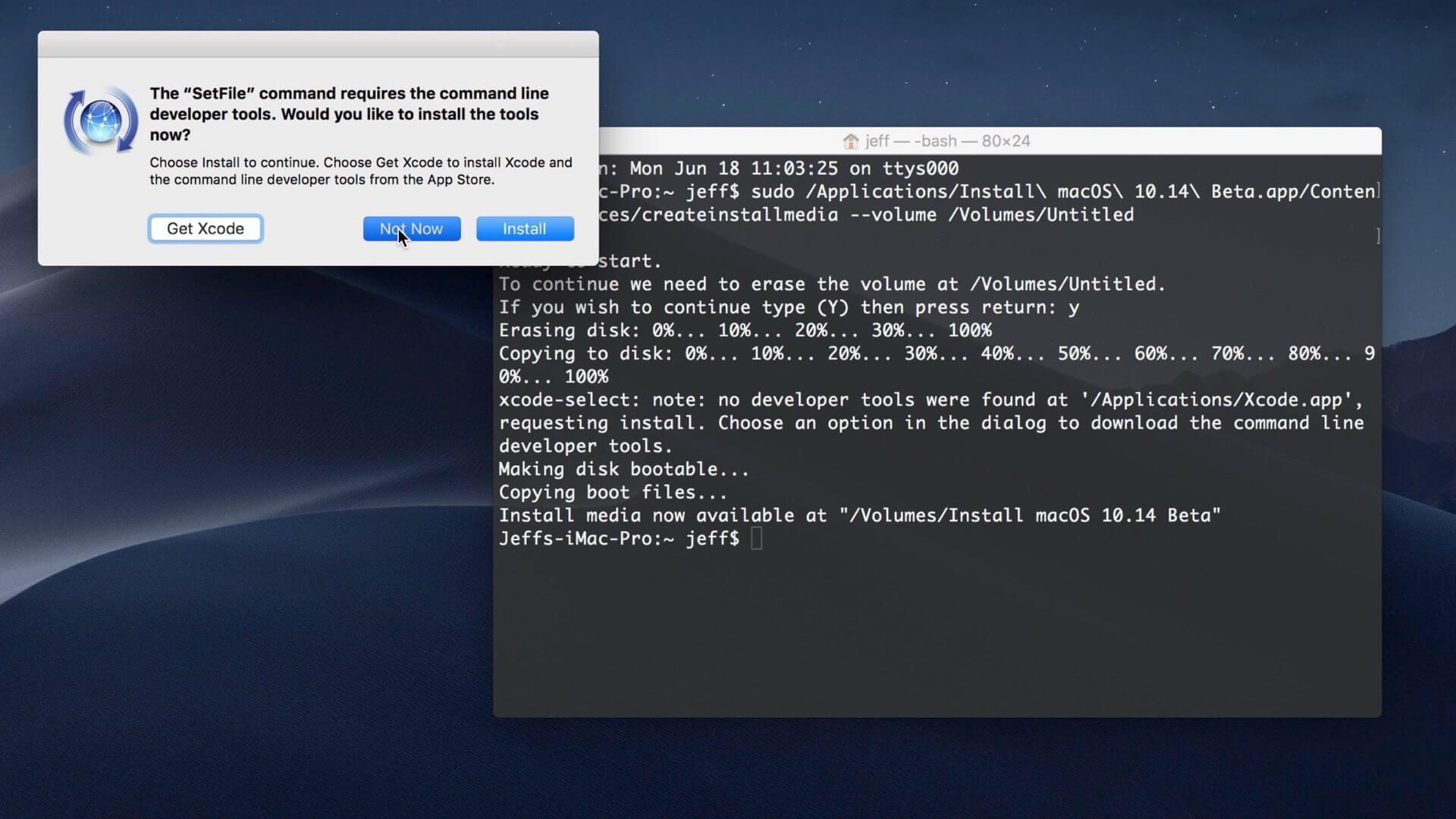 how to make mac bootable usb