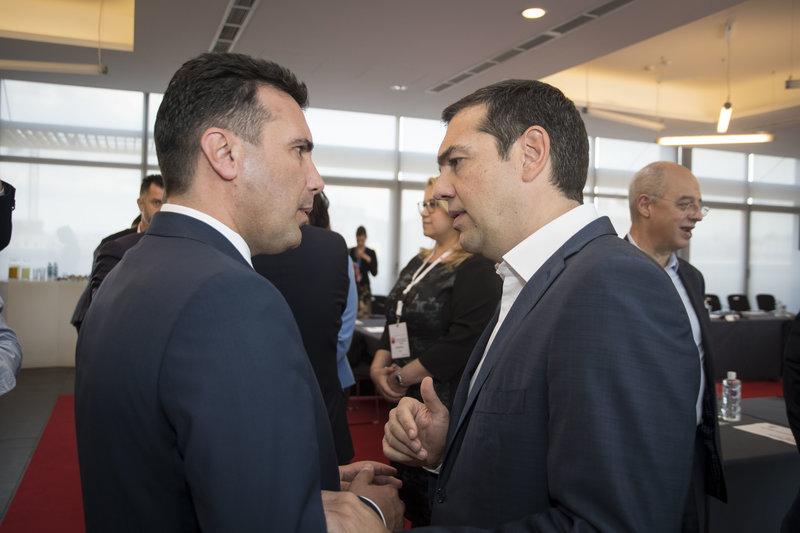Ζάεφ: «Στη Σόφια ήταν οι πιο δύσκολες στιγμές.  κυριολεκτικά διαχωρίσαμε ποια είναι τα συναισθήματα του τμήματος του πληθυσμού της Ελλάδας που ζει στο βόρειο τμήμα της χώρας, οι οποίοι αισθάνονται Έλληνες Μακεδόνες»