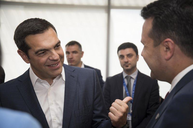 Ζάεφ: Ο Αλέξης Τσίπρας, συνιστά πρότυπο ευρωπαϊκής ηγεσίας και ευρωπαϊκής συμπεριφοράς σ' όλη αυτήν τη διαδικασία