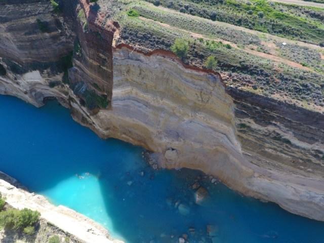 Λουκέτο για 15 ημέρες στη διώρυγα της Κορίνθου -Τι κατέγραψε drone του ΕΚΠΑ [εικόνες & βίντεο] | iefimerida.gr 0