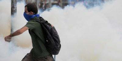 Επεισοδια,Διαδηλωση,Φοιτητων,Κωνσταντινουπολη,Δεκαδες,Συλληψεις