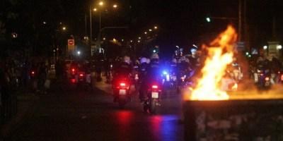 Επεισοδια,Θεσσαλονικη,Επιθεση,Ξενοδοχειο,Μακεδονια,Διαμαρτυρεται