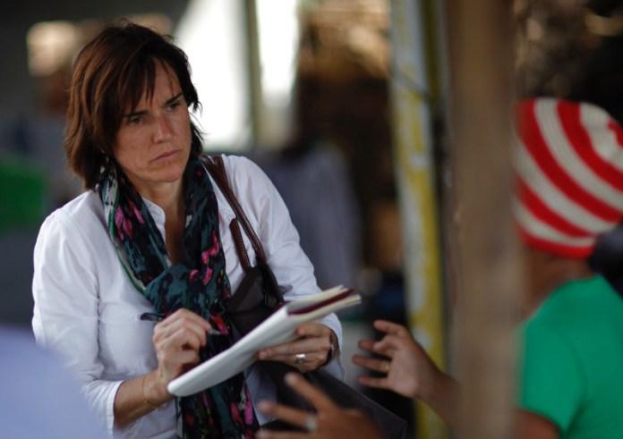 Η Γαλλίδα δημοσιογράφος Φλοράνς ντε Σανζί