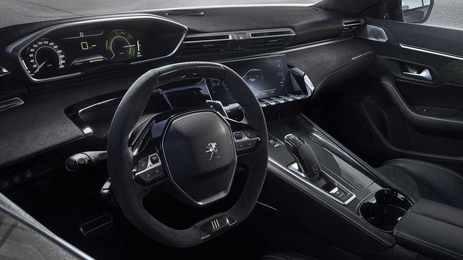 Το εσωτερικό του Peugeot 508