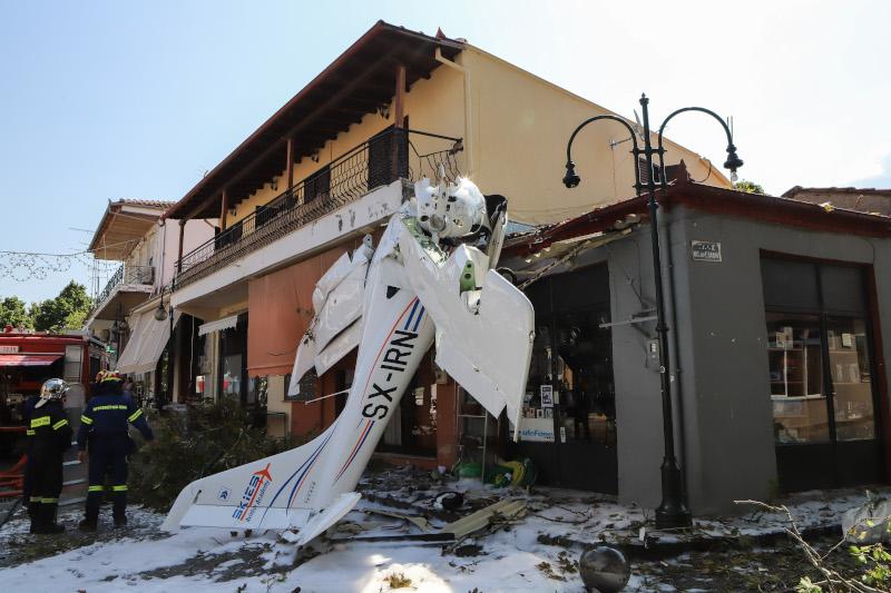 Επεσε μονοκινητήριο αεροπλάνο στις Σέρρες