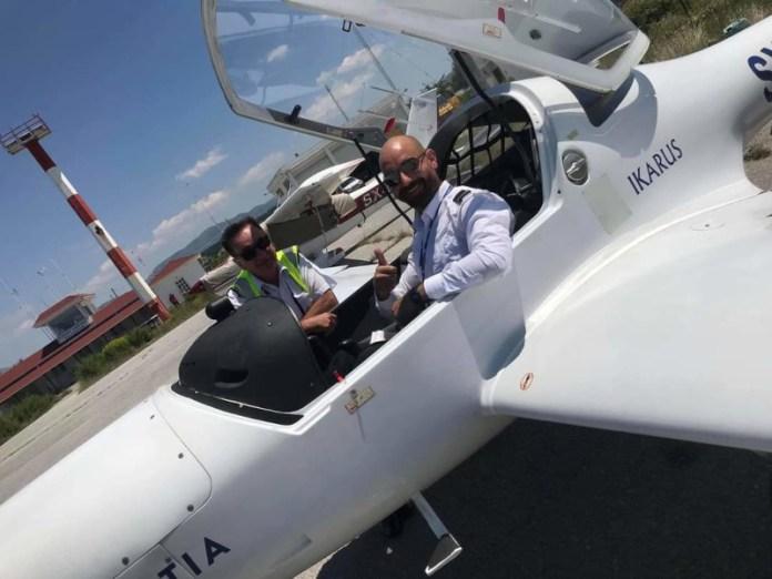αεροσκάφος πιλότος αγνοείται Ζαγόρι