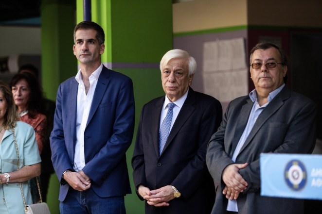 Ο Προκόπης Παυλόπουλος και ο Κώστας Μπακογιάννης