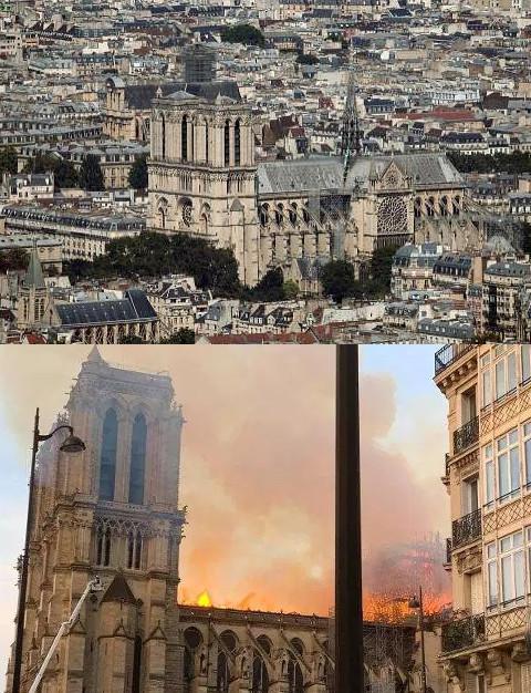 Αλλαξε όψη η Παναγία των Παρισίων μετά τη φωτιά