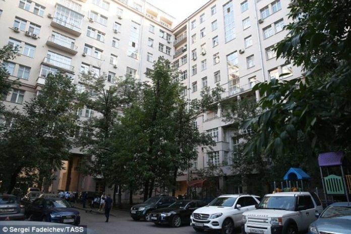 Το ξενοδοχείο όπου διέμενε/DailyMail