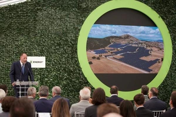Ο Πρόεδρος και Διευθύνων Σύμβουλος της R Energy 1, Γεώργιος Μ. Ρόκας - Φωτογραφία: ΓτΠ ΠΑΠΑΜΗΤΣΟΣ ΔΗΜΗΤΡΗΣ