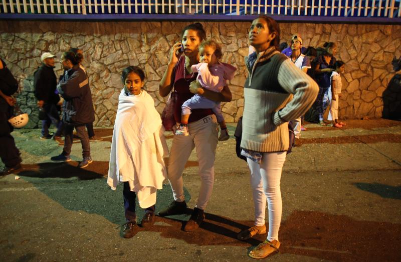 Ο σεισμός είχε μέγεθος 7,3 βαθμών σύμφωνα με το αμερικανικό ινστιτούτο γεωφυσικής (USGS), ενώ το Ίδρυμα Σεισμολογικών Ερευνών της Βενεζουέλας (FUNVISIS) εκτίμησε ότι το μέγεθός του ήταν 6,3 βαθμοί.