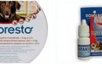 produse contra purecilor și căpușelor la câini și pisici