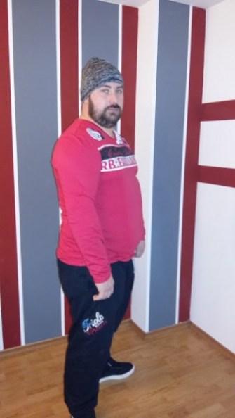 bluză tricou bărbați mărimi mari