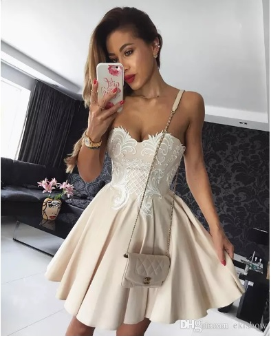 rochie scurta bal