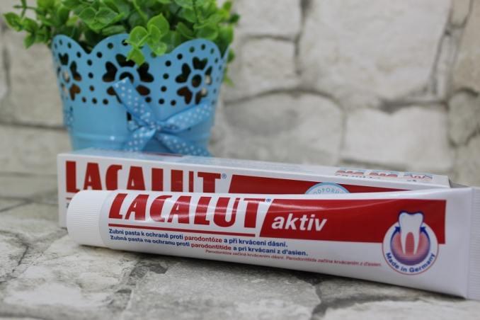 pasta de dinți Lacalut Activ