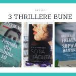 cărți thriller de citit