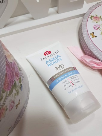 Dermacol Aqua Beauty Gel facial de curățare 3 în 1