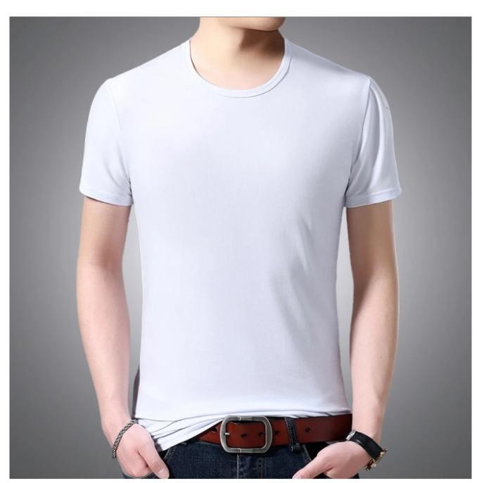 tricou alb simplu