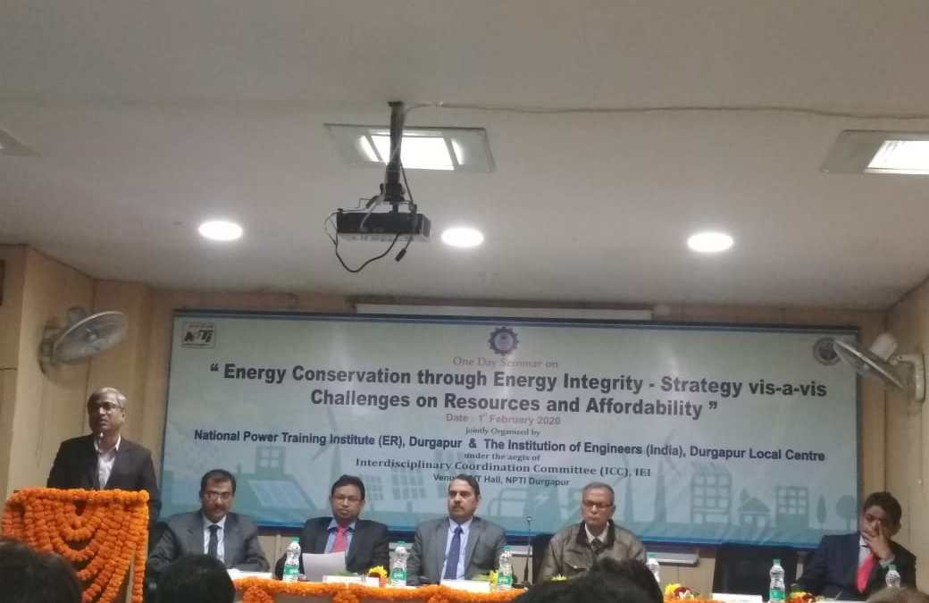 One Day Seminar on Energy Conservation