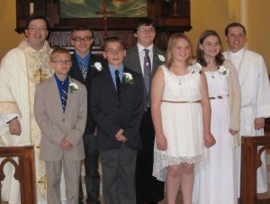 2015 Confirmation Class