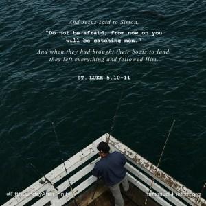 St. Luke 5.10-11