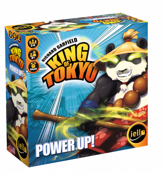 King of Tokyo power up 3d box