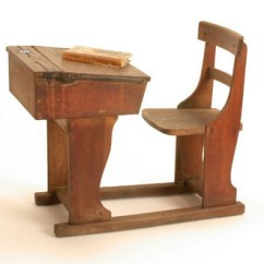 How To Lift A Chair With One Hand Ikea Lerhamn Covers School Desk, Victorian-20th Century, Original | Object Lessons - Childhood & Games: Victorians