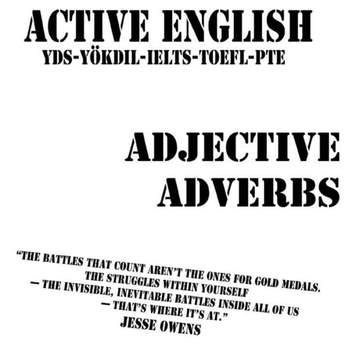 ADJECTIVE-ADVERB