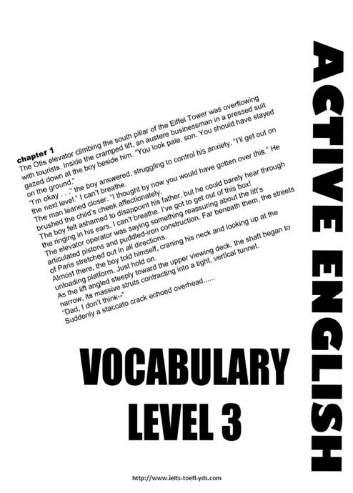 Vocabulary Book (level 3-B1)