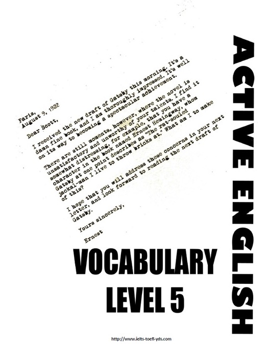Vocabulary Book (level 5-B2-C1)