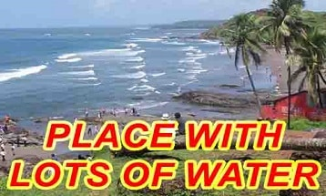Place with lots of water ielts speaking part 2 cue card with answer IELTS EXAM